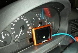 TnetX monteret i BMW 130