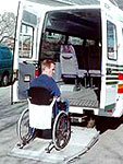 Handicapkørsel i Fyns Amt